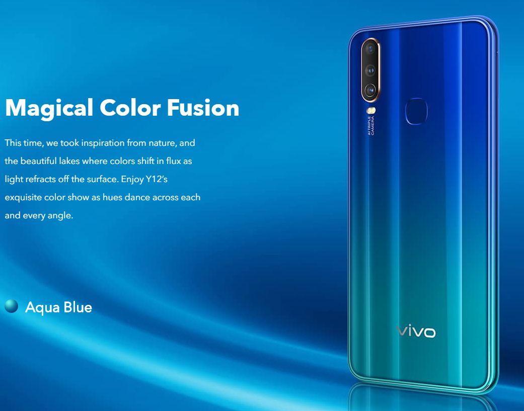 Test VIVO Y12 design