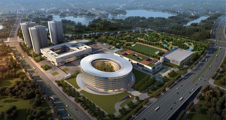 Le siège de Vivo en Chine