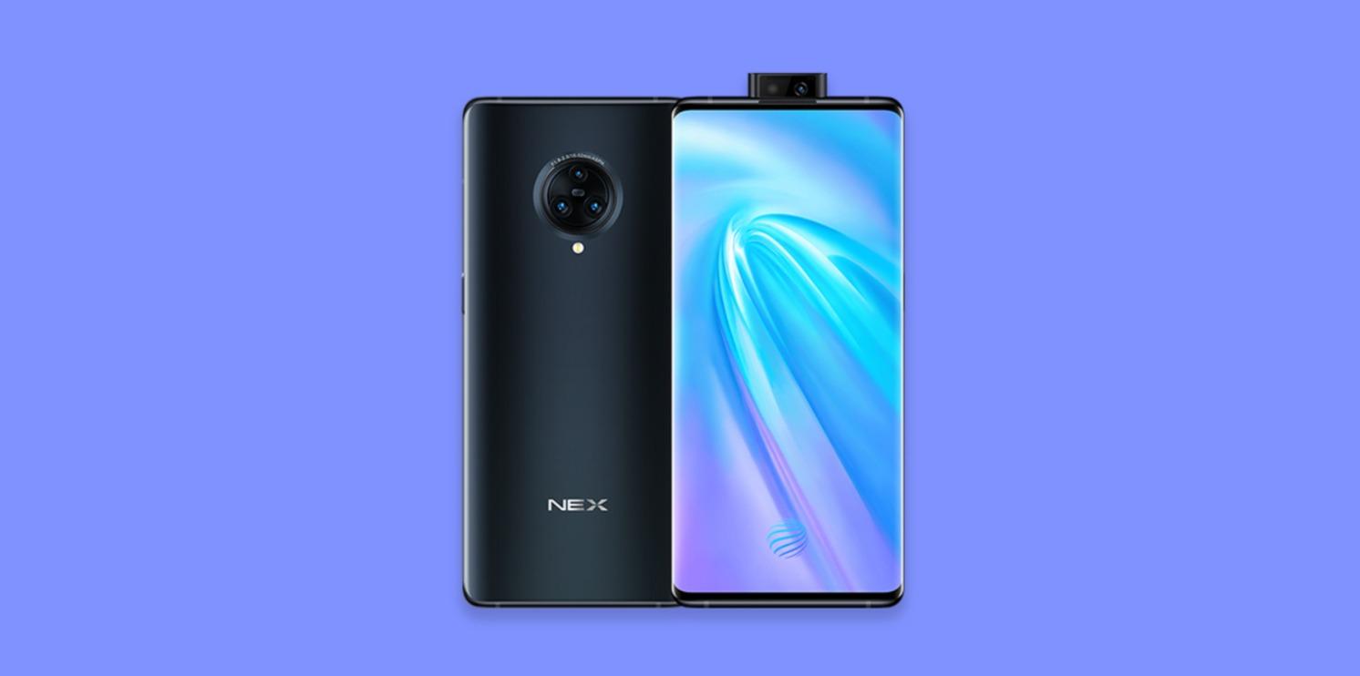 Vivo-Nex 3 5G Android 10 Funtouch OS 10