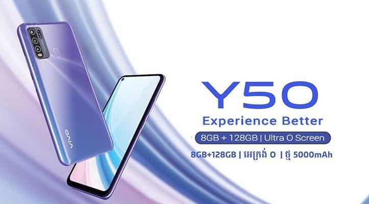 VIVO Y50 smartphone