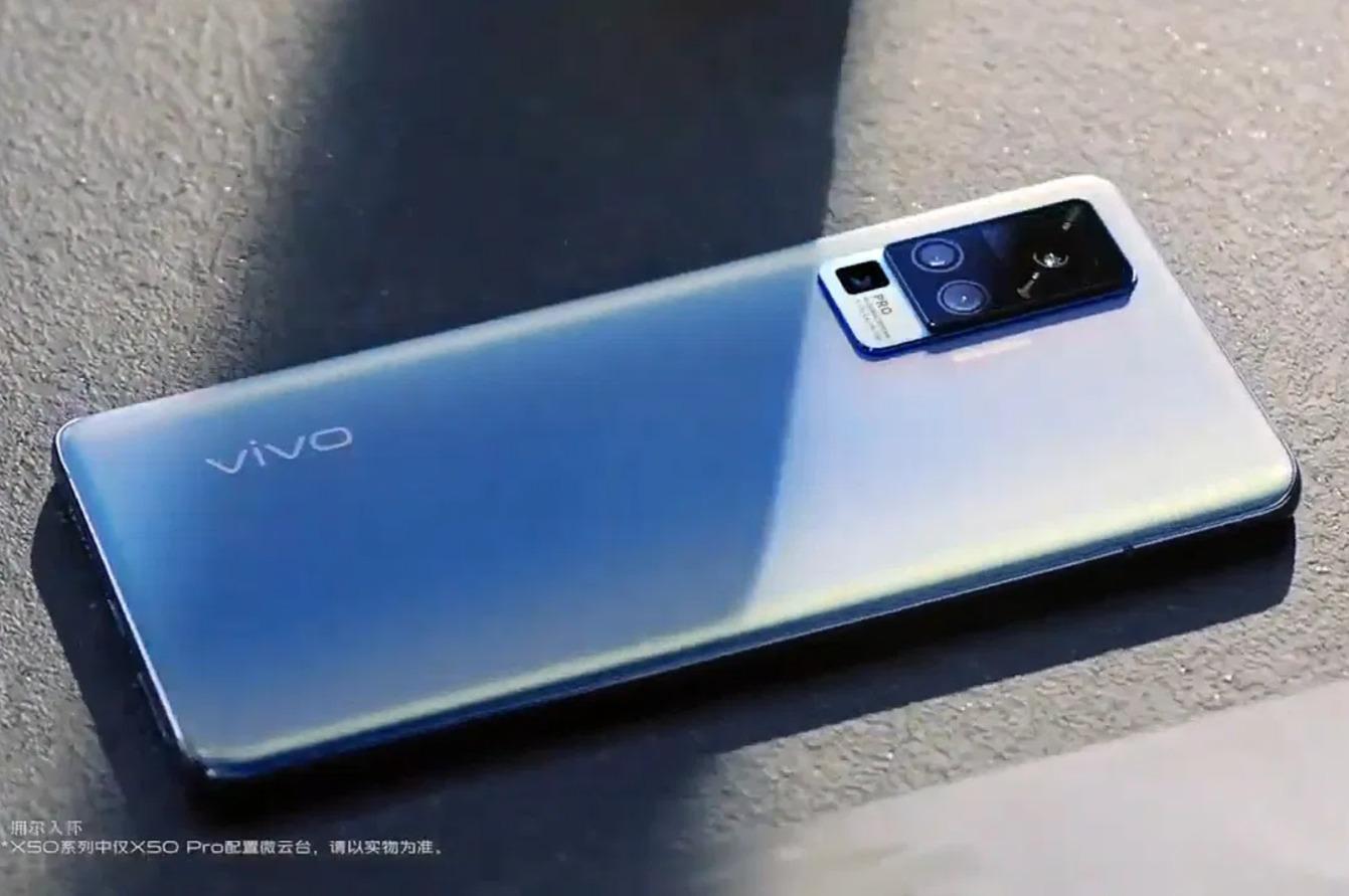 VIVO X50 gimbal caméra