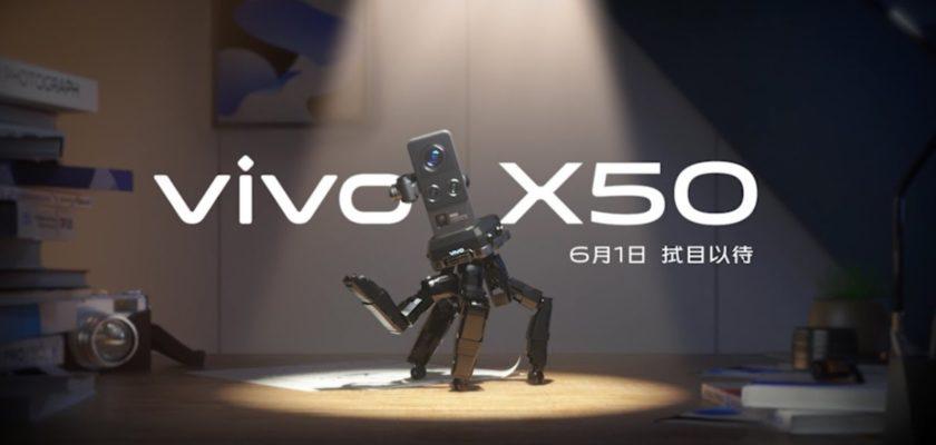 VIVO X50 stabilisateur gimbal