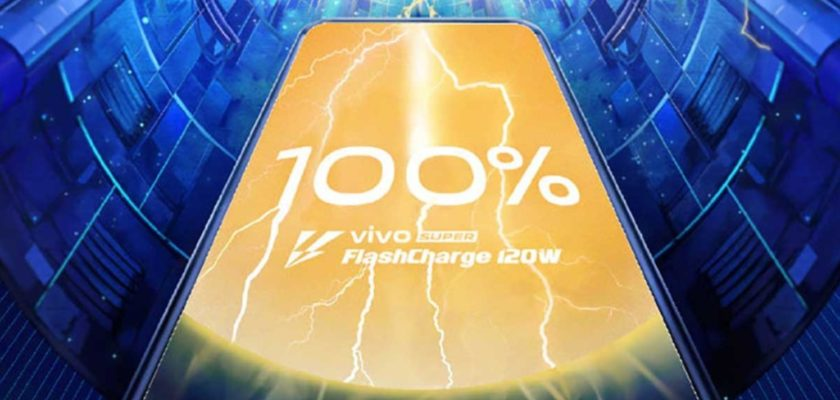 Vivo charge ultra rapide 120 W