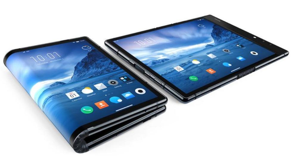 Vivo smartphone pliable concept brevet
