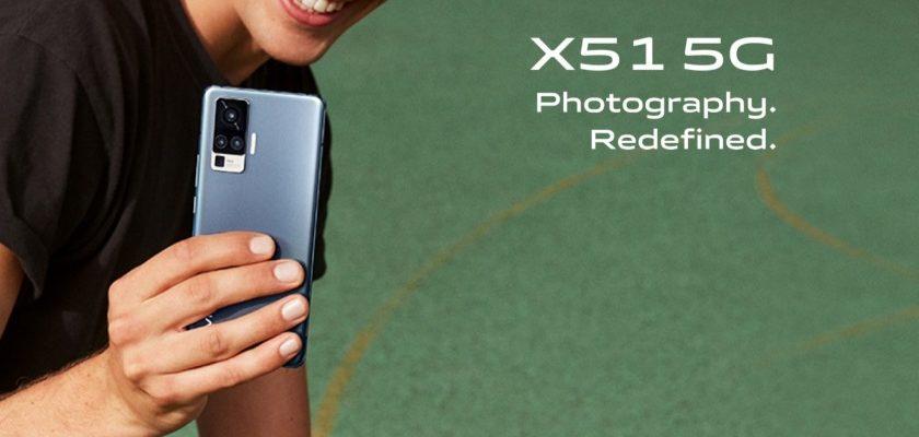 Avis Vivo X51 5G smartphone