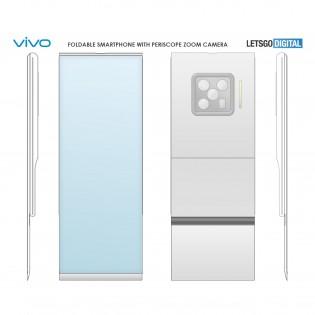 Vivo smartphone pliable brevet